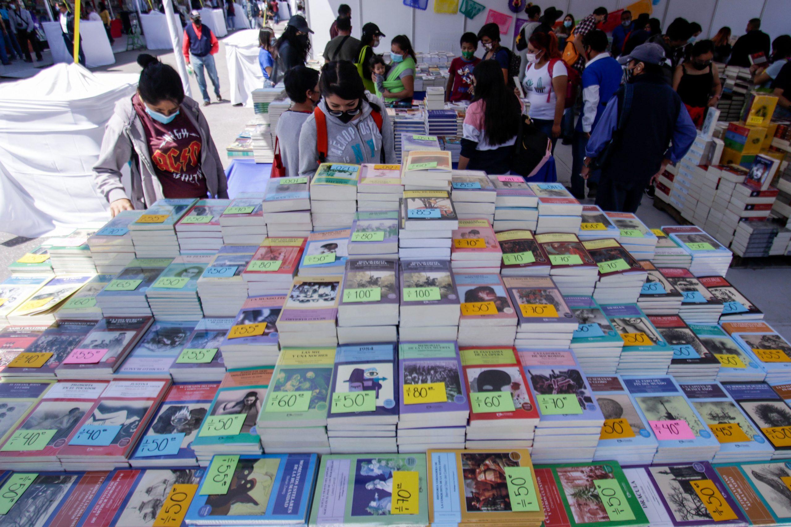 Retorna Feria Internacional del Libro presencial en la CDMX