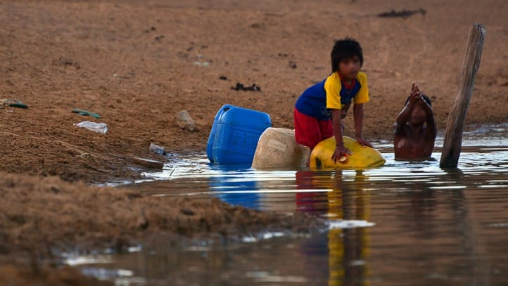 Colombia y la pandemia del hambre que sufren miles de niños en La Guajira