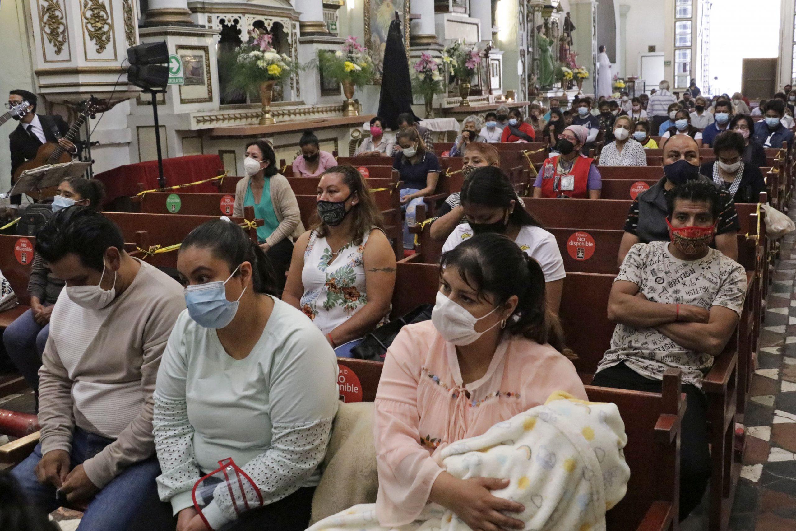 Iglesias de Puebla reabrirán al 100% con máximas medidas de salud