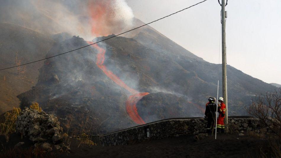 No se vislumbra el fin de la erupción del volcán Cumbre Vieja