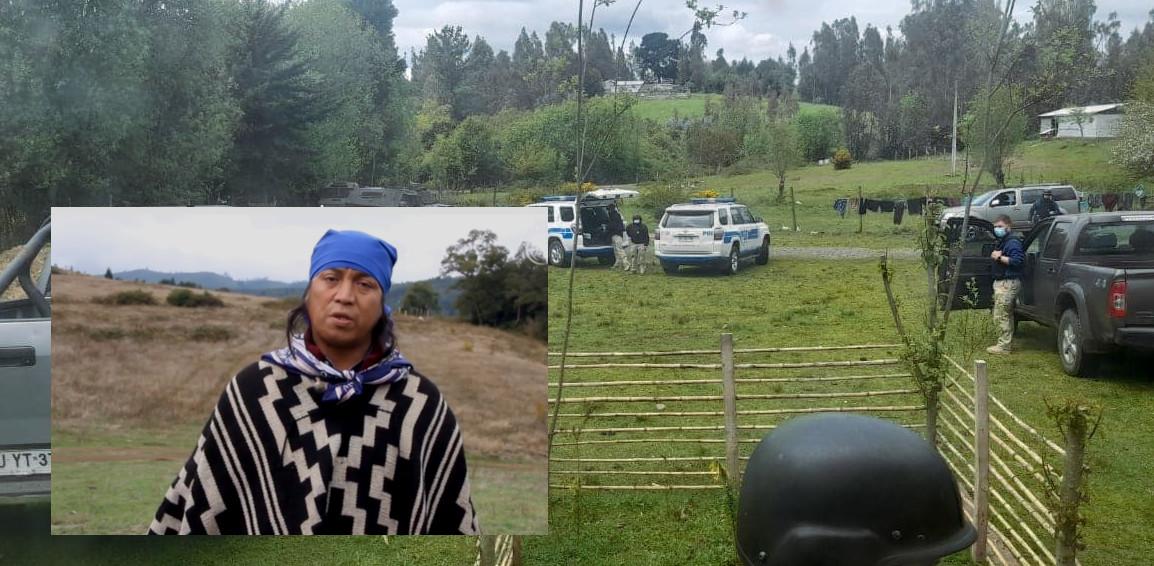 Detienen en Temuco a Machi de Huichahue Juan Queupumil y allanan su hogar en la comunidad