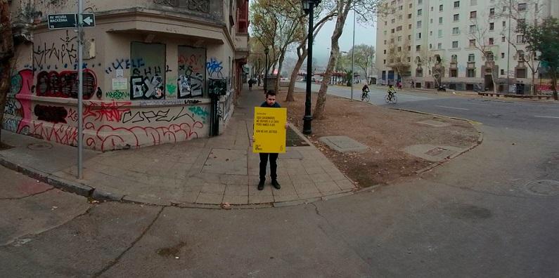 """Verdad, justicia y reparación: Campaña """"Calles con Memoria"""" a dos años del estallido social"""