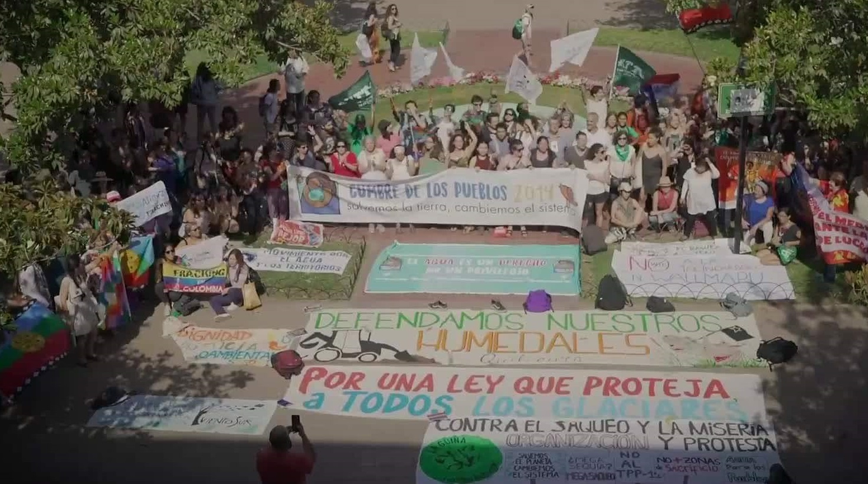 Comenzó el ciclo de documentales: Lucha socioambiental y Revuelta Social en Chile