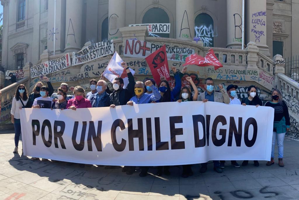 Manifiesto de las candidatas y candidatos a CORE de pacto Chile Digno: Por una transformación del modelo neoliberal en los distintos ámbitos regionales