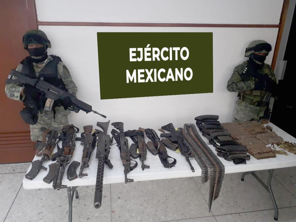Sedena destaca aciertos contra el narco en Tamaulipas y Chihuahua
