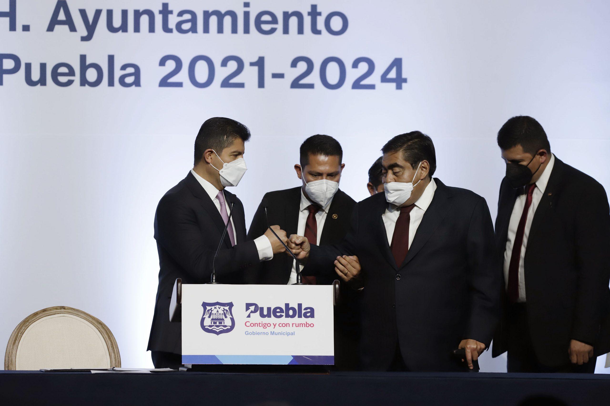 """Asume Lalo Rivera como alcalde de Puebla; """"No más confrontaciones"""", afirma"""