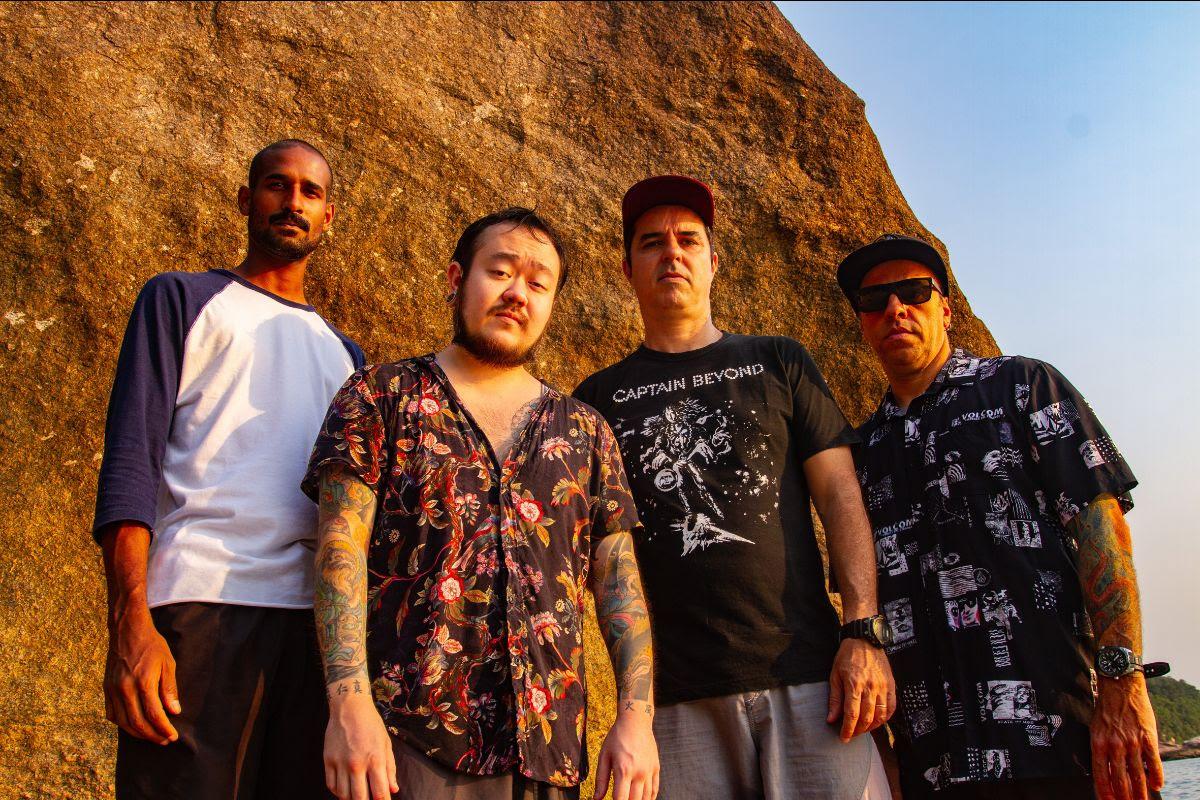 Desde Brasil: Con una fusión de metal, grunge y stoner, APNEA lanza ep 'Salt Water'