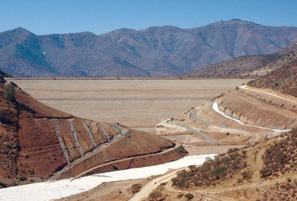 Nuevo accidente ambiental de Minera Los Pelambres