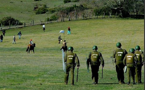 Mapuches penetraron a fundo de Luchsinger y se retiran de forma pacífica